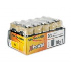 Batéria Alkaline 9V 10ks
